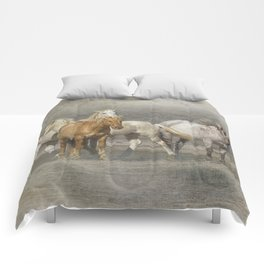 A Band of Horses Comforters