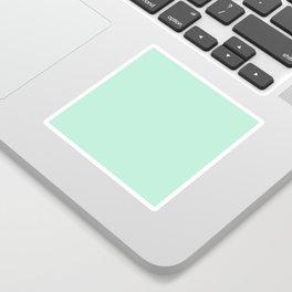 Mint Green Sticker