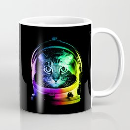 Astronaut Cat Coffee Mug