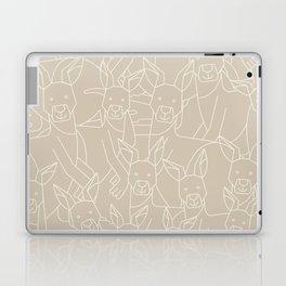 Minimalist Kangaroo Laptop & iPad Skin