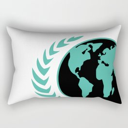 United Earth Government Rectangular Pillow
