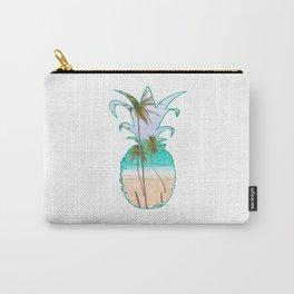 Hawaiian Summer Aesthetic | Pineapple Beach Aloha Carry-All Pouch