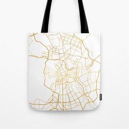 SAINT PETERSBURG CITY STREET MAP ART Tote Bag