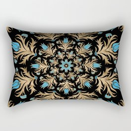 Turkish tulip - Ottoman tile 4 Rectangular Pillow