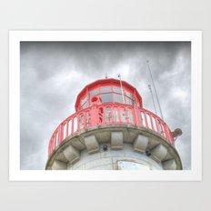 Moody Lighthouse Art Print