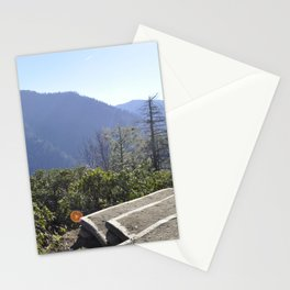 Great Smoky Mountains Chimney Tops Observation Deck Stationery Cards