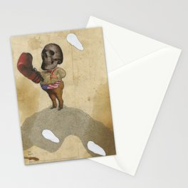 The Fighter Stationery Cards