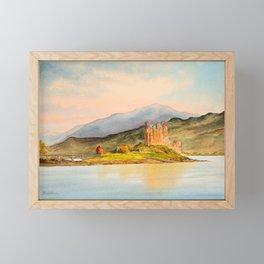 Eilean Donan Castle Scotland Framed Mini Art Print