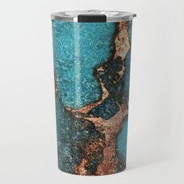 GEMSTONE  & GOLD AQUA Travel Mug