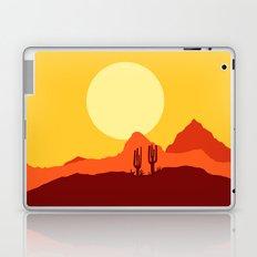 Mojave desert scene Laptop & iPad Skin