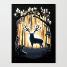 Master of the Forest Canvas Print