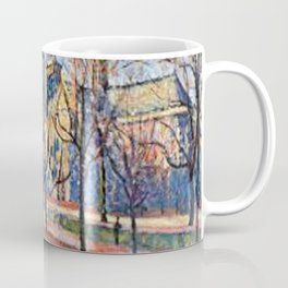 View of Notre Dame from the Quay Montebello by Maximilian Luce Coffee Mug