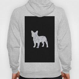 French bulldog marble noir Hoody