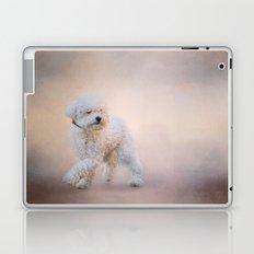 On the Go - Bichon Frise Laptop & iPad Skin