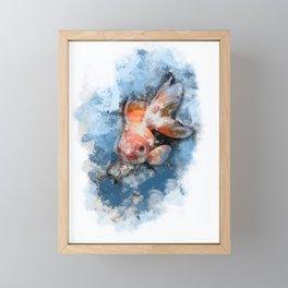 Wish on a Goldfish Framed Mini Art Print