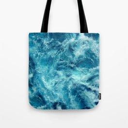 Ocean is shaking Tote Bag