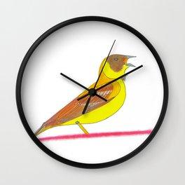 Singing bird Wall Clock