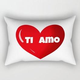 Ti amo ,Valentine's day gift ideas Rectangular Pillow