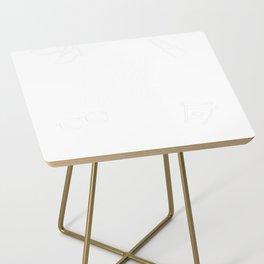 Como Estas Bitches Side Table