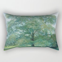 Trees of Trent Park #2 Rectangular Pillow