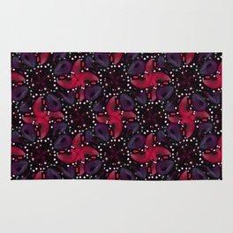 Dark Refined Luxury Pattern Rug