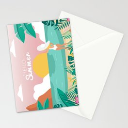 Hello Summer! (: -b- Stationery Cards