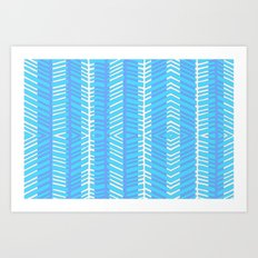 Blue Herring Art Print