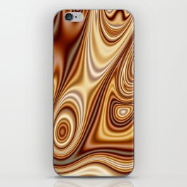 Fordite Caramel Nafta 25 iPhone Skin