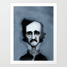 Mr. Alan Poe Art Print