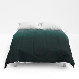 Ombre Emerald Comforters