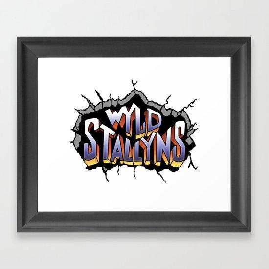 Wyld Stallyns Framed Art Print