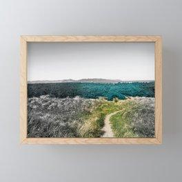 Nestled Field Framed Mini Art Print