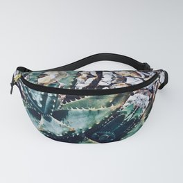 Succulents On Show No 3 Fanny Pack