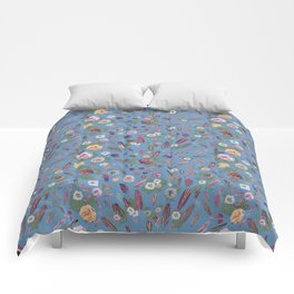 50's feathers and flowers Comforters