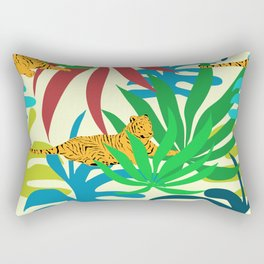 Tigers Rest #society6 #decor #buyart Rectangular Pillow