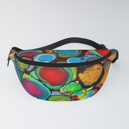 Conscious Overlap (Alcohol Inks Series 03) Fanny Pack
