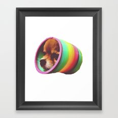 Slinky Dog! Framed Art Print