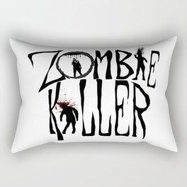 Zombie Killer (Control) Rectangular Pillow