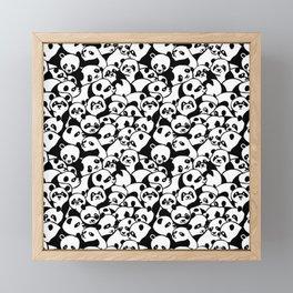 Oh Panda Framed Mini Art Print