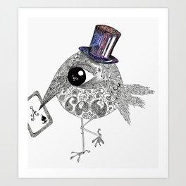 Ace Bird Art Print