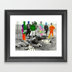Proud Men Framed Art Print