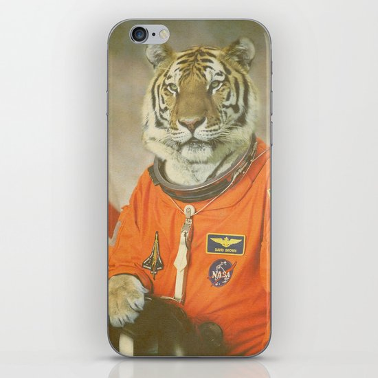 Moon Tiger  iPhone & iPod Skin