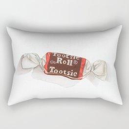 Tootsie Roll Rectangular Pillow
