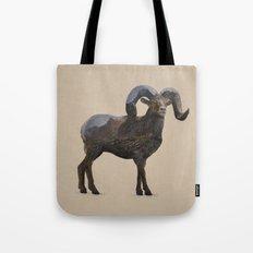 The Rocky Mountain Bighorn Sheep Tote Bag