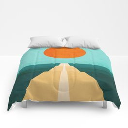 The Road Less Traveled Comforters