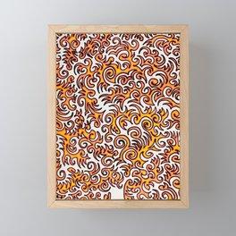 The Sqwiggle Framed Mini Art Print