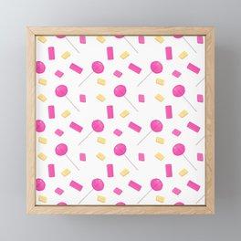 Lollypop Framed Mini Art Print