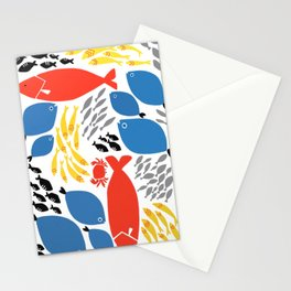 sea pals Stationery Cards
