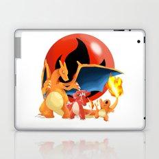 Spit Fires Laptop & iPad Skin