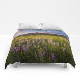 Boulder In Bloom Comforters